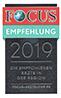Focus Urkunde 05 2019 - HNO München